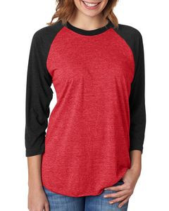 Next Level Unisex Triblend 3/4-Sleeve Raglan Shirt