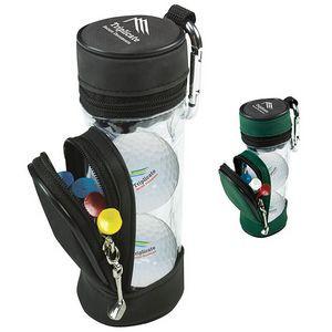 Mini Golf Bag w/ 3 Wilson® Ultra 500 Golf Balls & 5 Tees