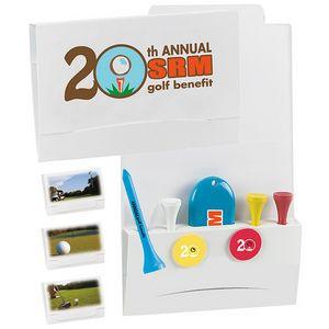 """4-2-1 Golf Tee Packet w/ 2 3/4"""" Tees"""