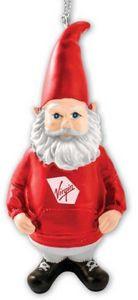 "Custom Poly Resin Gnome Ornament - 4"""