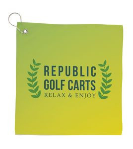 Universal Source™ Small Full Color Cooling Golf Towel