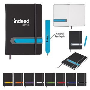 """5"""" x 7"""" Parallel Journal And Pen Set"""