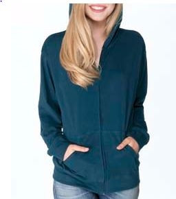Next Level Adult Sueded Zip Hoody