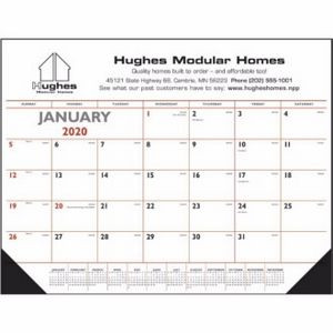 Triumph® Desk Pad Calendar w/Vinyl Corners