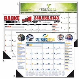 Good Value® Multi-Color Desk Pad Calendar