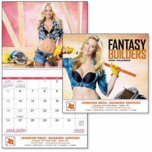 Good Value™ Fantasy Builders Calendar (Spiral)