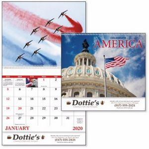 Good Value™ Celebrate America Calendar (Spiral)