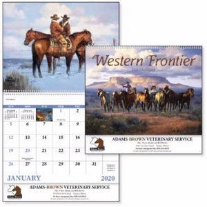 Good Value™ Western Frontier Calendar (Spiral)