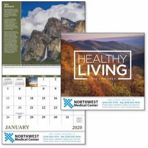 Good Value™ Healthy Living Calendar (Spiral)