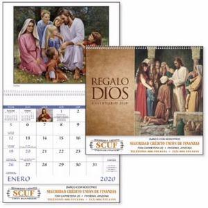 Good Value™ Regalo de Dios Calendar (Spiral)