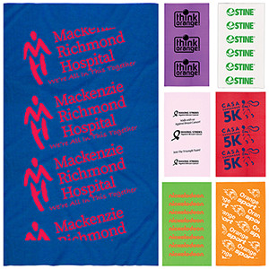 """""""The Fandana™"""" Full-Size Multi-Functional Gaiter, Facecover and Headwear – Domestic Production"""