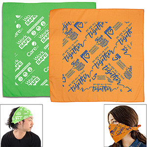 """The Bandana"" Full-Color Sublimated Headband & Neck Wear"