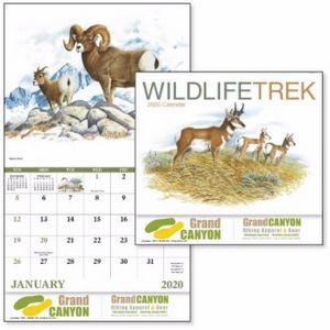 Good Value™ Wildlife Trek Calendar (Stapled)