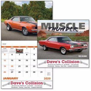 Good Value™ Muscle Thunder Calendar (Stapled)