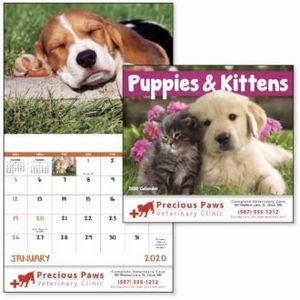 Good Value™ Puppies & Kittens Calendar (Stapled)