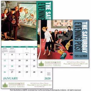 Good Value™ The Saturday Evening Post Calendar (Stapled)