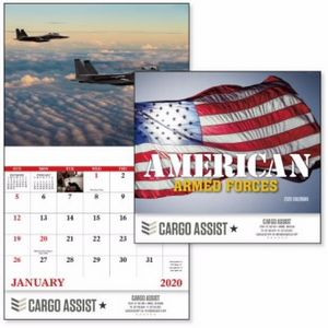 Good Value™ The Armed Forces Calendar (Stapled)