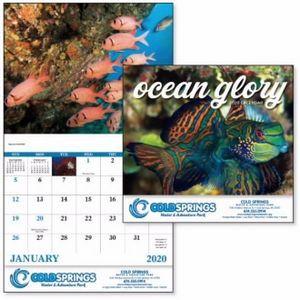 Good Value™ Ocean Glory Calendar (Stapled)