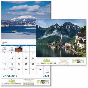 Good Value™ Glorious Getaways Calendar (Stapled)