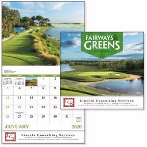 Good Value™ Fairways & Greens Calendar (Stapled)