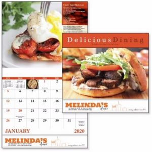 Good Value™ Delicious Dining Calendar (Stapled)