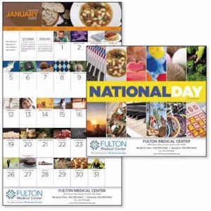 Good Value™ National Day Calendar (Stapled)