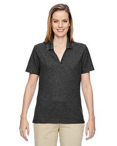 North End® Ladies' Excursion Nomad Performance Waffle Polo Shirt