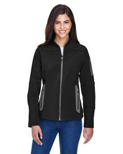 NORTH END Ladies' Three-Layer Fleece Bonded Soft Shell Technical Jacket