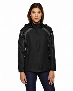 NORTH END Ladies' Sirius Lightweight Jacket with Embossed Print