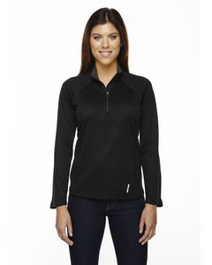 NORTH END Ladies' Radar Quarter-Zip Performance Long-Sleeve Top