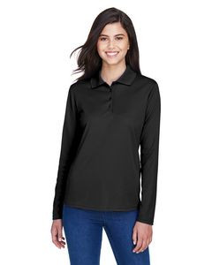 CORE365™ Ladies' Pinnacle Performance Long Sleeve Piqué Polo Shirt