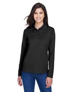 CORE365™ Ladies' Pinnacle Performance Long Sleeve Piqué Polo Shirt
