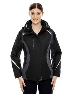 NORTH END Ladies' Height 3-in-1 Jacket with Insulated Liner
