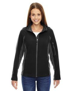 North End® Ladies' Generate Textured Fleece Jacket