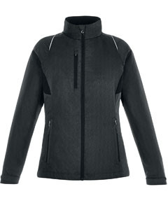 North End® Ladies' Sustain Lightweight Recycled Polyester Jacket w/Reflective Print