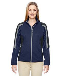 North End® Ladies' Strike Colorblock Fleece Jacket
