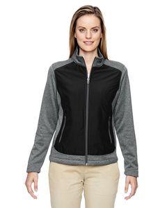 North End® Ladies' Victory Hybrid Performance Fleece Jacket
