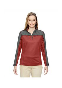North End® Ladies' Excursion Circuit Performance Quarter Zip Jacket