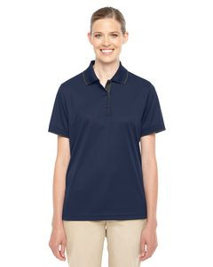 CORE365™ Ladies' Motive Performance Piqué Polo Shirt w/Tipped Collar