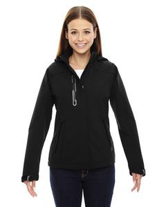 Ladies' North End Sport® Axis Soft Shell Jacket w/Print Graphic Accents
