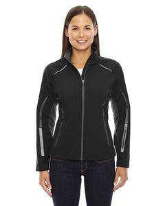 Ladies' Pursuit North End® 3 Layer Light Bonded Hybrid Soft Shell Jacket