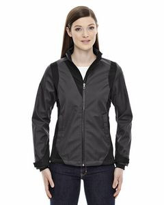 Ladies' Commute North End Sport® Blue 3 Layer Light Bonded Soft Shell Jacket