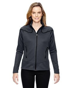 North End® Ladies' Cadence Interactive Two-Tone Brush Back Jacket