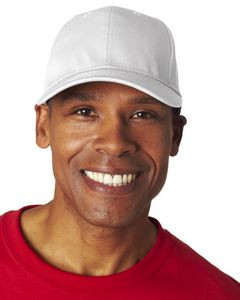 UltraClub® Adult Classic Cut Cotton Twill 6-Panel Cap