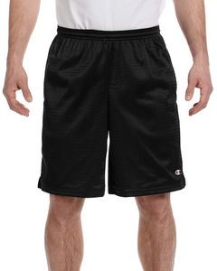 Champion® 3.7 Oz. Long Mesh Shorts w/Pockets