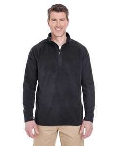 UltraClub® Adult Cool & Dry Quarter-Zip Microfleece Jacket