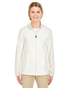 UltraClub® Ladies' Cool & Dry Full-Zip Microfleece Jacket