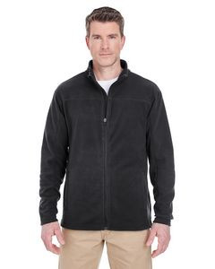 UltraClub® Men's Cool & Dry Full-Zip Microfleece Jacket
