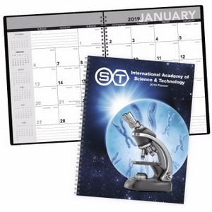 Triumph® Standard Year Desk Planner w/ Custom Cover