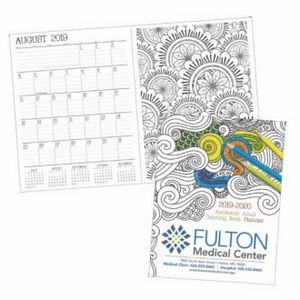 GoodValue® 2018-2019 Academic Adult Coloring Book Planner